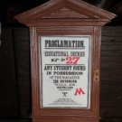 Proclamation 27 Magnet Wizarding World of Harry Potter Universal Studios