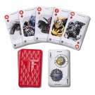 Transformers Autobots Decepticons Playing Cards Universal Studios Exclusive