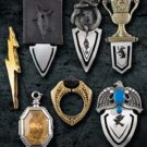 Horcrux Bookmark Collection Harry Potter Noble Collection Wizarding World
