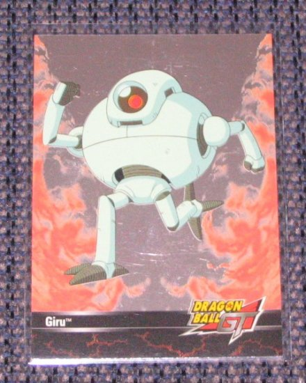 Dragon Ball GT (Artbox 2003) Foil Card R4- Giru NM
