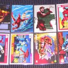 Daredevil Cards Marvel Flair Universe Lot of 8 NM-M