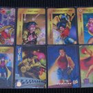 Jubilee Cards- Marvel Overpower X-Men - Lot of 8 NM-M