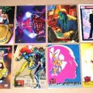 Professor X Cards- Marvel Flair X-Men- Lot of 8 NM-M