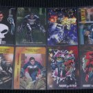 Punisher Cards- Flair Overpower Universe Lot of 8 NM-M