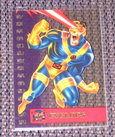 X-Men, 1995 Fleer Ultra Suspended Animation Card #2- Cyclops NM