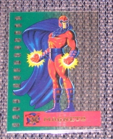X-Men, 1995 Fleer Ultra Suspended Animation Card #6- Magneto NM