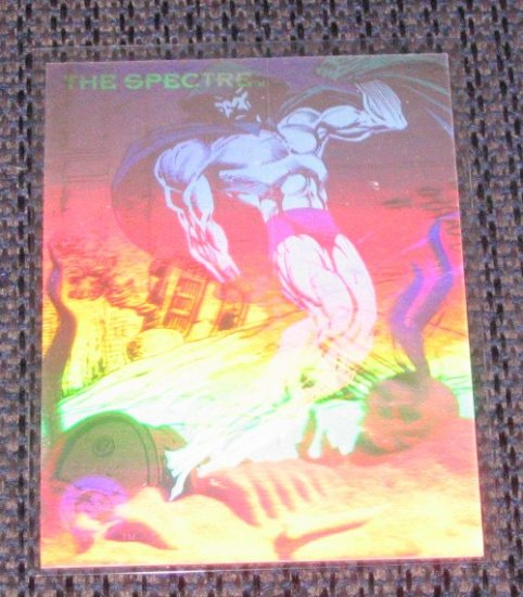 DC Cosmic Teams (SkyBox 1993) Hologram Card DCH14- The Spectre EX