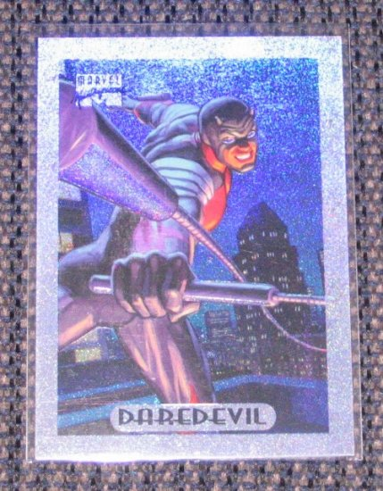 Marvel Masterpieces 1994 (Fleer) Holofoil Card #3- Daredevil EX