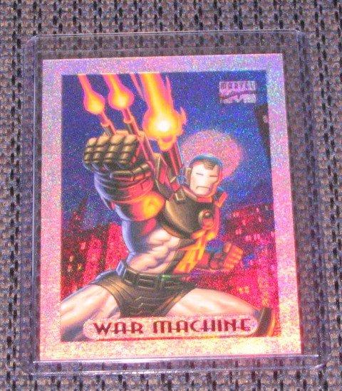 Marvel Masterpieces 1994 (Fleer) Holofoil Card #10- War Machine NM