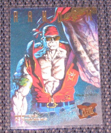 X-Men, 1995 Fleer Ultra - Hunters & Stalkers Power Blast Card #4- Random VG