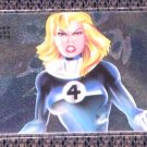1994 Flair Marvel Universe (Fleer) Power Blast Card #17- Invisible Woman NM-M