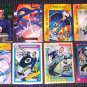 Mister Fantastic Cards- Fantastic Four Marvel Flair Overpower Universe- Lot of 8 NM-M