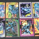 Apocalypse Cards- X-Men Marvel Overpower Universe- Lot of 8 NM-M