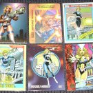 Invisible Woman Cards- Fantastic Four Marvel Flair Overpower Universe- Lot of 6 NM-M