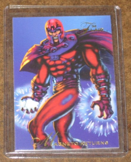 1994 Flair Marvel Universe (Fleer) Card #120- Magneto Returns NM