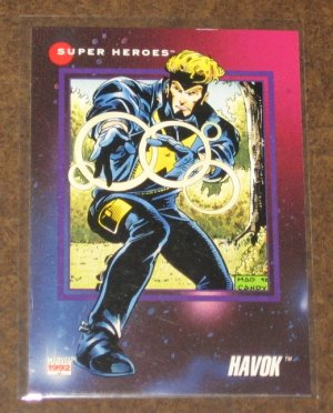 Marvel Universe Series 3 (Impel 1992) Card #70- Havok NM