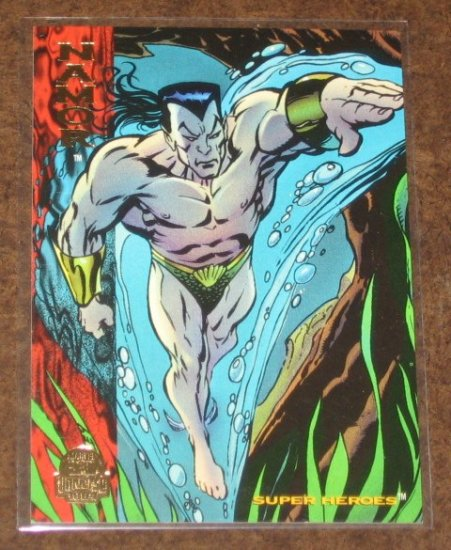 Marvel Universe 1994 (Fleer) Card #194- Namor NM