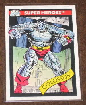 Marvel Universe Series 1 (Impel 1990) Card #36- Colossus NM