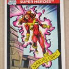 Marvel Universe Series 1 (Impel 1990) Card #9- Marvel Girl NM