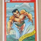 Marvel Universe Series 1 (Impel 1990) Card #16- Sub-Mariner NM