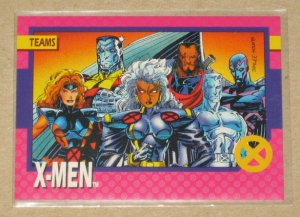 X-Men Series 1 (Impel 1992) Card #71- X-Men NM