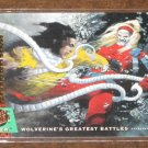 X-Men, 1994 Fleer Ultra Card #139- Wolverine vs. Omega Red NM