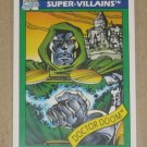 Marvel Universe Series 1 (Impel 1990) Card #60- Doctor Doom EX-MT
