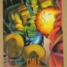 Marvel Universe Series 4 (SkyBox 1993) Card #35- Cable EX-MT