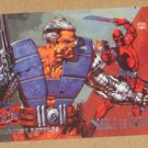 X-Men, 1995 Fleer Ultra Card #127- Cable vs. Deadpool EX-MT