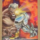 X-Men All Chromium, Fleer Ultra 1995 - Alternate X Embossed Card #5- Cable VG
