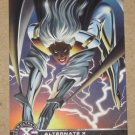 X-Men All Chromium, Fleer Ultra 1995 - Alternate X Embossed Card #17- Storm VG