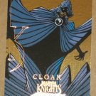 Marvel Masterpieces Set 3 (Upper Deck 2008) Knights Chase Card MK 3 - Cloak EX
