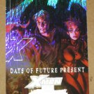 Marvel Masterpieces Set 3 (Upper Deck 2008) X-Men Chase Card XM 1- Days of Future Present EX