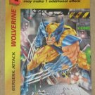 Marvel OverPower (Fleer 1995) - Wolverine Berserk Attack NM