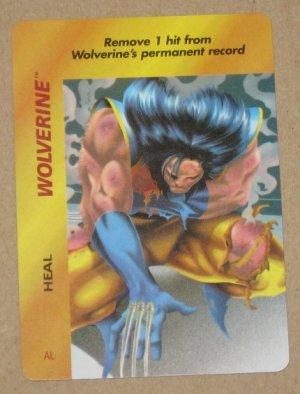 Marvel OverPower (Fleer 1995) - Wolverine Heal NM