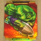 Marvel Masterpieces Set 2 (Upper Deck 2008) Movie Die-Cut Chase Card Hulk A EX-MT
