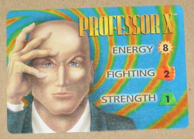 Marvel OverPower (Fleer 1995) - Professor X Hero Card NM