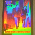 DC Cosmic Cards (Impel 1991) Hologram Card DCH1- Clark Kent and Lois Lane EX-MT