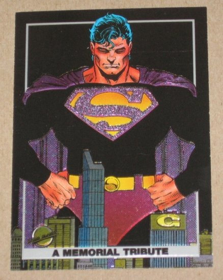 Doomsday: The Death of Superman (SkyBox 1992) Spectra Foil Card S3 EX-MT