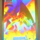 DC Cosmic Cards (Impel 1991) Hologram Card DCH6- Hawkman EX