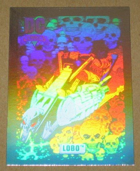 DC Cosmic Cards (Impel 1991) Hologram Card DCH7- Lobo EX