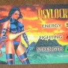Marvel OverPower (Fleer 1995) - Psylocke Hero Card NM