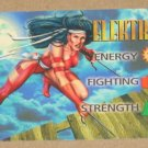 Marvel OverPower (Fleer 1995) - Elektra Hero Card EX-MT