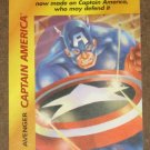 Marvel OverPower (Fleer 1995) - Captain America Avenger Card NM