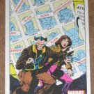 70 Years of Marvel Comics (Rittenhouse 2010) Metalic Ink Parallel Card #44- 1981 EX-MT