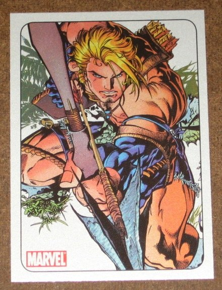 70 Years of Marvel Comics (Rittenhouse 2010) Metalic Ink Parallel Card #60- 1997 EX-MT