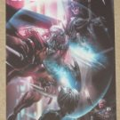 Marvel Heroes and Villains (Rittenhouse 2010) Parallel Card #25- X-Force vs. Stryfe NM