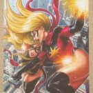 Marvel Heroes and Villains (Rittenhouse 2010) Parallel Card #30- Ms. Marvel vs. Ms. Marvel NM