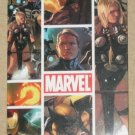 Marvel Heroes and Villains (Rittenhouse 2010) Tri-Fold Poster Card PC4 EX-MT