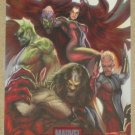 Marvel Heroes and Villains (Rittenhouse 2010) Alliances Card A12- Inhumans EX-MT